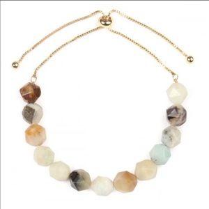 NWOT. Natural stone bracelet